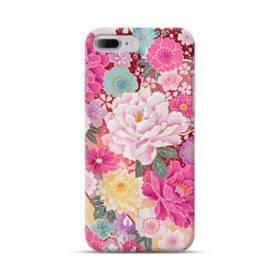 和の花柄:牡丹 iPhone 7 Plus ポリカーボネート ハードケース