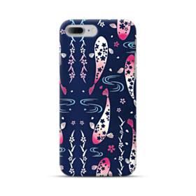 和柄:桜&錦鯉 iPhone 7 Plus ポリカーボネート ハードケース