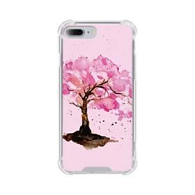 水彩画・桜の木 iPhone 7 Plus TPU クリアケース