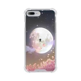 爛漫・夜桜&私たち iPhone 7 Plus TPU クリアケース