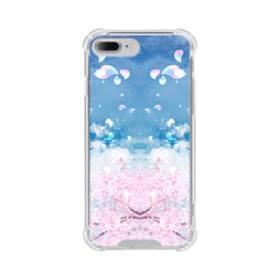 桜の花びら iPhone 7 Plus TPU クリアケース
