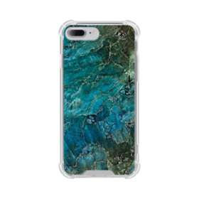 エメラルド iPhone 7 Plus TPU クリアケース