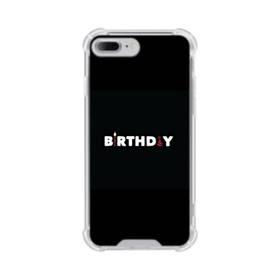 デザイン アルファベット005 birthday iPhone 7 Plus TPU クリアケース
