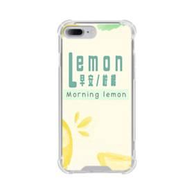 デザイン・漢字&アルファベット:レモン、おはよう。 iPhone 7 Plus TPU クリアケース