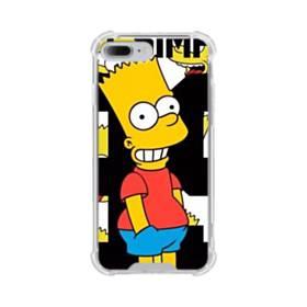 人気のバート・シンプソンちゃん  iPhone 7 Plus TPU クリアケース