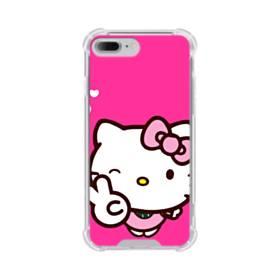永遠に可愛い!キティちゃん iPhone 7 Plus TPU クリアケース
