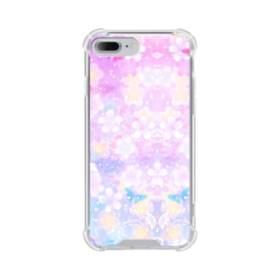 爛漫・抽象的な桜の花 iPhone 7 Plus TPU クリアケース