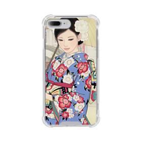 こんにちは、ジャパンガール! iPhone 7 Plus TPU クリアケース