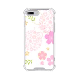 桜の形・いろいろ iPhone 7 Plus TPU クリアケース