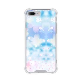 爛漫桜の花 iPhone 7 Plus TPU クリアケース