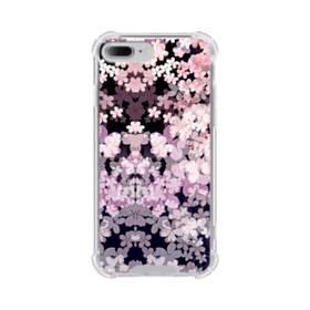爛漫・夜桜 iPhone 7 Plus TPU クリアケース