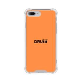 デザイン アルファベット:drum (ドラム) iPhone 7 Plus TPU クリアケース