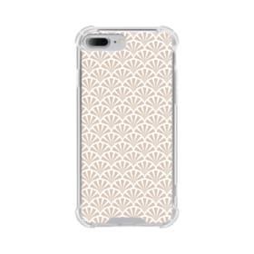 デザイン・和のパターン iPhone 7 Plus TPU クリアケース