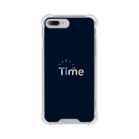 デザイン アルファベット006 time iPhone 7 Plus TPU クリアケース