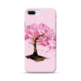水彩画・桜の木 iPhone 8 Plus ポリカーボネート ハードケース