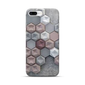 つぶつぶ六角形 iPhone 8 Plus ポリカーボネート ハードケース