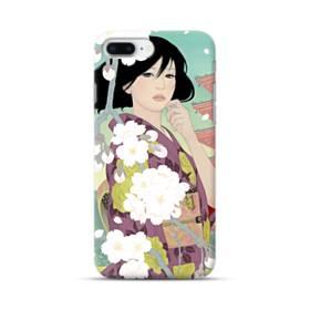 ザ・桜&ジャパンガール! iPhone 8 Plus ポリカーボネート ハードケース