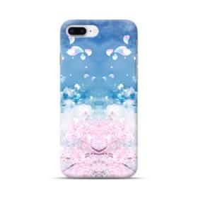 桜の花びら iPhone 8 Plus ポリカーボネート ハードケース