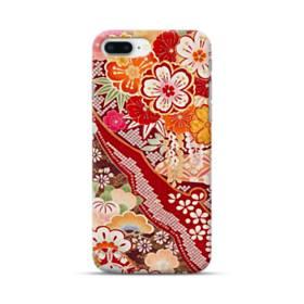 和・花柄 iPhone 8 Plus ポリカーボネート ハードケース