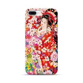 和・花魁&桜 iPhone 8 Plus ポリカーボネート ハードケース