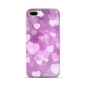 爛漫・ハート柄 iPhone 8 Plus ポリカーボネート ハードケース