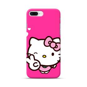 永遠に可愛い!キティちゃん iPhone 8 Plus ポリカーボネート ハードケース