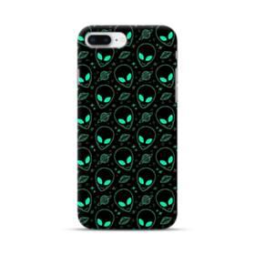 宇宙人&UFOのモチーフ iPhone 8 Plus ポリカーボネート ハードケース