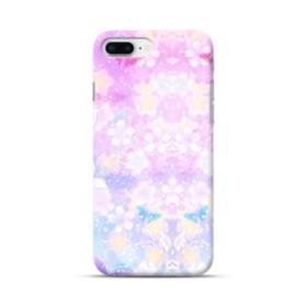 爛漫・抽象的な桜の花 iPhone 8 Plus ポリカーボネート ハードケース