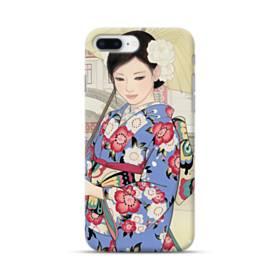 こんにちは、ジャパンガール! iPhone 8 Plus ポリカーボネート ハードケース