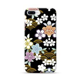 和風・桜&浪 iPhone 8 Plus ポリカーボネート ハードケース