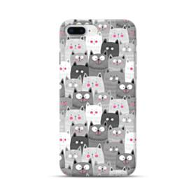 多くの子猫 iPhone 8 Plus ポリカーボネート ハードケース