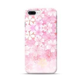 爛漫・ピンク&桜色 iPhone 8 Plus ポリカーボネート ハードケース