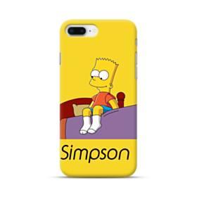 思い出のバート・シンプソンちゃん  iPhone 8 Plus ポリカーボネート ハードケース
