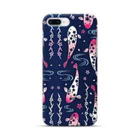 和柄:桜&錦鯉 iPhone 8 Plus ポリカーボネート ハードケース