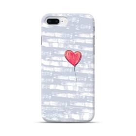 ハートバルーン iPhone 8 Plus ポリカーボネート ハードケース