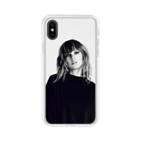 世界の彼女:テイラー・スウィフト01 iPhone X TPU クリアケース