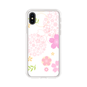 桜の形・いろいろ iPhone X TPU クリアケース