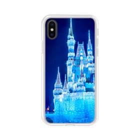 ザ・城001 iPhone X TPU クリアケース