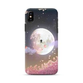 爛漫・夜桜&私たち iPhone X ポリカーボネート タフケース