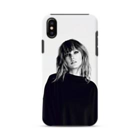 世界の彼女:テイラー・スウィフト01 iPhone X ポリカーボネート タフケース