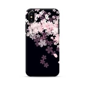 爛漫・桜 iPhone X ポリカーボネート タフケース