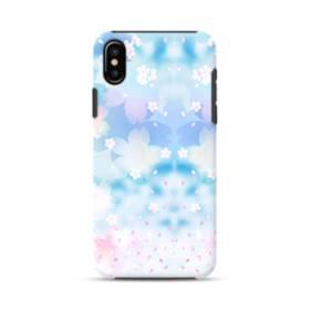爛漫桜の花 iPhone X ポリカーボネート タフケース