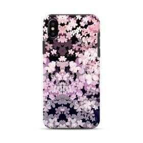 爛漫・夜桜 iPhone X ポリカーボネート タフケース