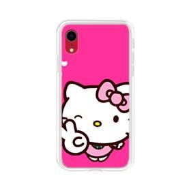 永遠に可愛い!キティちゃん iPhone XR TPU クリアケース