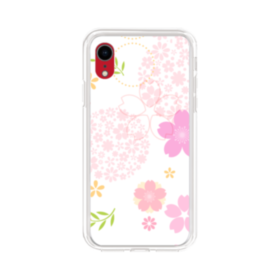 桜の形・いろいろ iPhone XR TPU クリアケース
