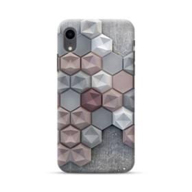 つぶつぶ六角形 iPhone XR ポリカーボネート ハードケース