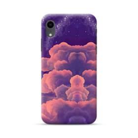 抽象的・雲 iPhone XR ポリカーボネート ハードケース