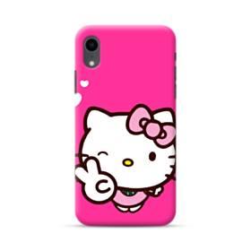 永遠に可愛い!キティちゃん iPhone XR ポリカーボネート ハードケース