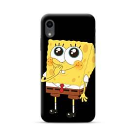 可愛いスポンジボブ iPhone XR ポリカーボネート ハードケース