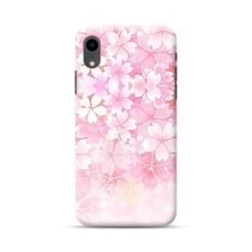 爛漫・ピンク&桜色 iPhone XR ポリカーボネート ハードケース
